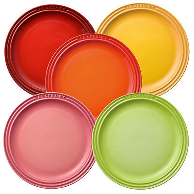 New Le Creuset Round Plate 23cm fast shipping