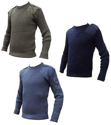 British Armed Forces Surplus Pullover Jumpers - Army, Royal Navy, RAF