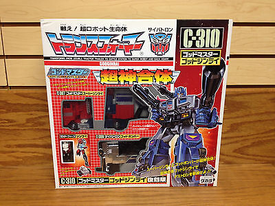 Takara TRANSFORMERS Optimus Prime C-310 GODMASTER G1 RE-ISSUE ** MINT in Box!