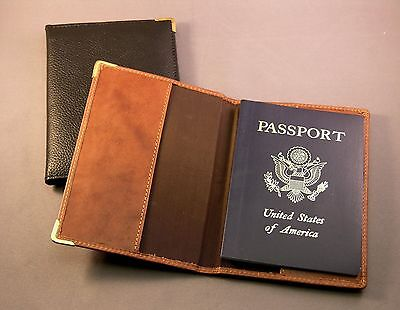 Premium Top Grain Leather Passport cover / holder - NEW
