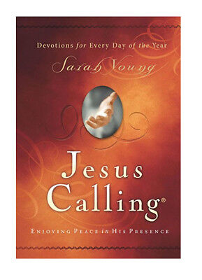 Jesus Calling : Enjoying Peace in His Presence by Sarah Young (2004, Hardcover)