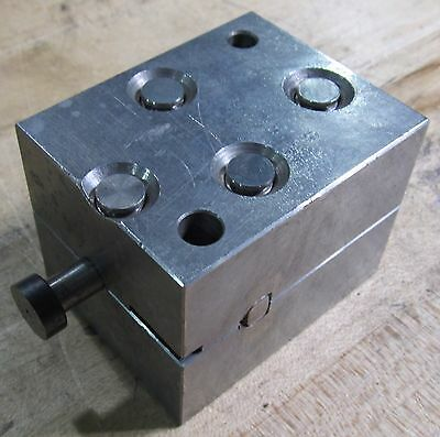 EDM Block, Used With System 3R Tooling