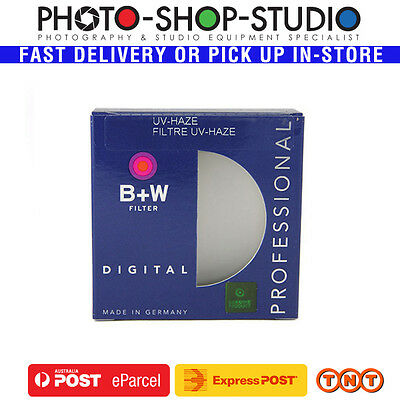 B+W 49mm Clear UV Haze Camera Lens Filter (010) #70092 Made in Germany