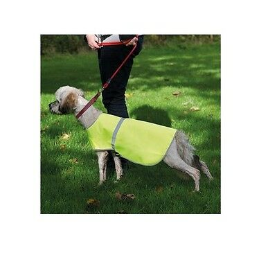High Visibility Yellow Pet Dog Reflective Safety Vest Jacket Fluorescent