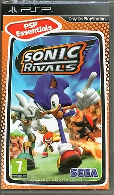 SONIC THE HEDGEHOG: RIVALS 1 GAME PSP ~ NEW / SEALED
