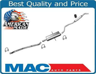 01-04 Grand Caravan 3.8 Front Wheel Dr Muffler Exhaust System Without Stow & Go