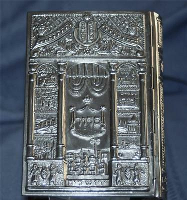 Vintage Silver covered Prayer book...book published in Israel 1959