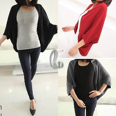 WHOLESALE BULK LOT OF 10 MIXED COLOUR Open Cardigan Sweater Shawl Scarf  T045