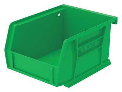 "Green Hang and Stack Bin, 5-3/8""L x 4-1/8""W x 3""H AKRO-MILS 30210GREEN"