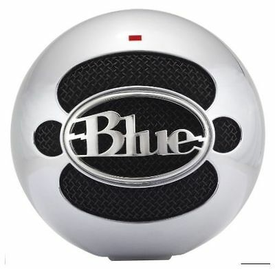 Blue Microphones Snowball USB Microphone (Brushed Aluminum) Free Shipping NEW