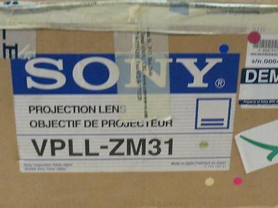 Sony Projection Zoom Lens VPLL-ZM31 1.1x 1:1.9-2.0