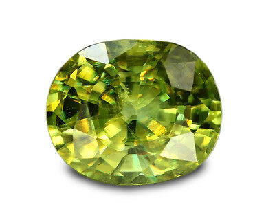 1.50 Carats Natural Madagascar Sphene Loose Gemstone - Oval