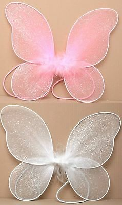 Very Small Butterfly Fairy Wings for Girls Fancy Dress Dressing Up Pretend Play