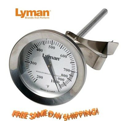 Lyman Authentic * Lead Bullet Casting Thermometer * Accurate  2867793 new!