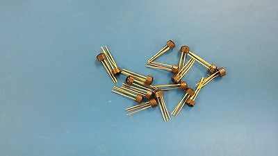 TIS92, Solid State, NPN Transistor, 400mA, 40V, Lot of 20