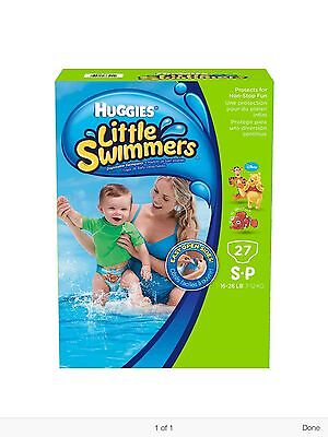 HUGGIES LITTLE SWIMMERS Disposal Swimpants Diapers Small 27 Count