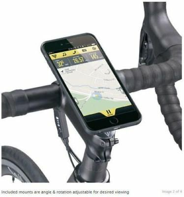 Topeak RideCase to suit iPhone 6 / 6s, with Handlebar Mount Case Touch BLACK TT9