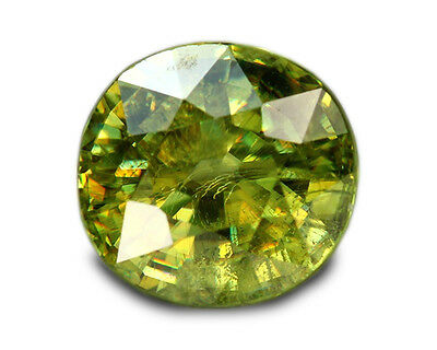 1.67 Carats Natural Madagascar Sphene Loose Gemstone - Oval