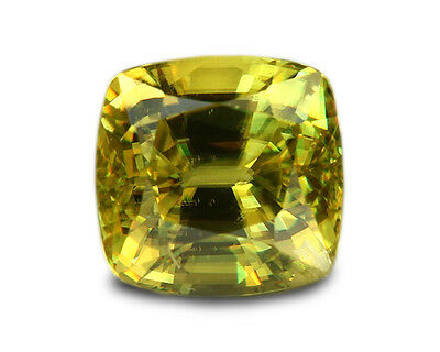 1.96 Carats Natural Madagascar Sphene Loose Gemstone - Cushion