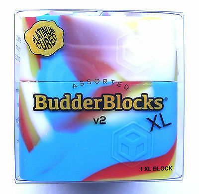 Budder Blocks LG Non Stick Silicone Container Jar For Sticky Product Assortment