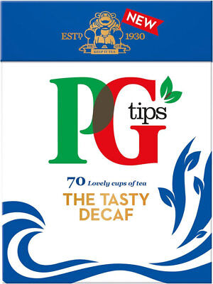 Pg Tips The Tasty Decaf 70 Teabags