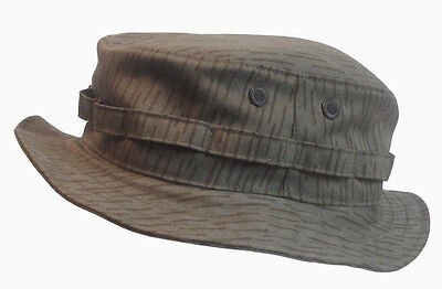 RECCE Hat  Boonie     - East German NVA Camouflage   - Made in Germany -