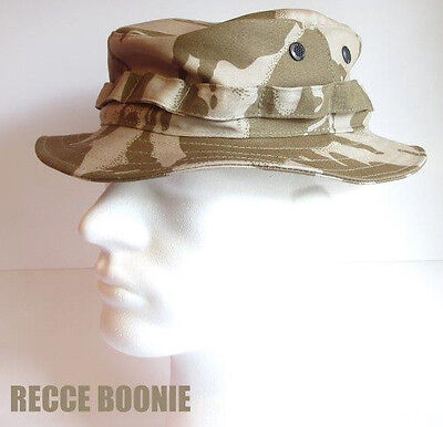 RECCE Hat Boonie      British  DPM Desert Camo   - Made in Germany -