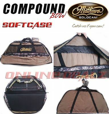 Compound Bow And Arrow Padded Soft Storage Case Camo Archery Hunting Wp Bag New