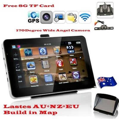 7'' Truck Car GPS Navigator 24GB Navigation Sat Nav Bluetooth Free Map AU Revers