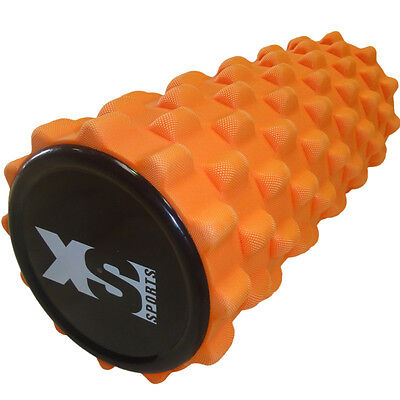 Yoga Grid Roller - EVA Foam Trigger Point Gym Sports Massage Physio Injury Tube