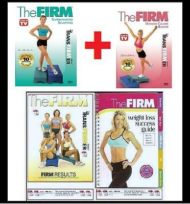 2 NEW The Firm SUPER CHARGED SCULPTING + ULTIMATE CALORIE BLASTER Workout +Bonus