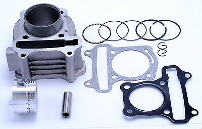 80cc Scooter Cylinder and  Piston Set 47mm 139QMB 4 stroke Engine 1842E/3002E