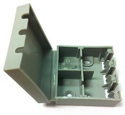 BT16A EXTERNAL CONNECTION CABLE JOINT BOX IN BLACK WITH 2x 2 WIRE JELLY CRIMPS