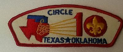 CIRCLE TEN COUNCIL CSP T-1 FIRST ISSUE RED BORDER