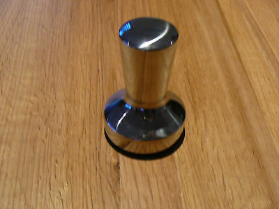 Stainless Steel Coffee Tamper 57mm 340g New In Box