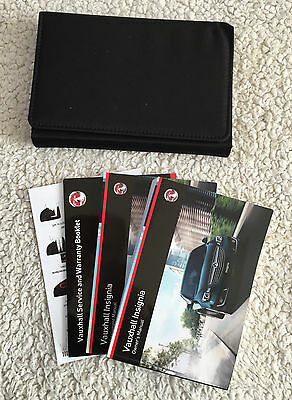 Vauxhall Insignia Genuine Owners Manual With Blank Service Book 2013-2015 #1535