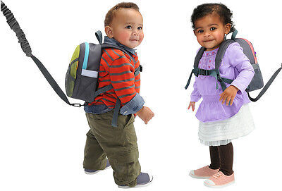 Brica By My Side Child Safety Harness Leash Backpack for Girls or Boys - A192