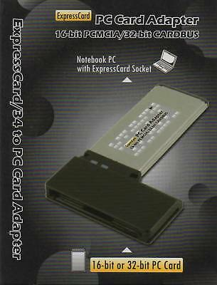 PC-EXP PC Card to ExpressCard Adapter/Reader for Panasonic P2 WIN VISTA or 7
