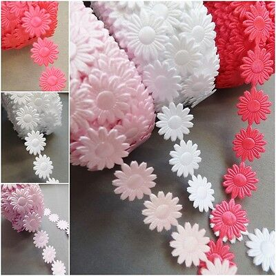 4Daisy Flowers trim satin lace ribbon CRAFTS scrapbook crafts sewing