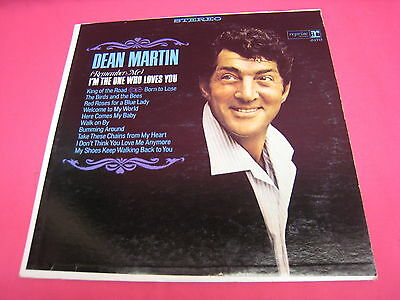 VINTAGE USED LP RECORD DEAN MARTIN I'M THE ONE WHO LOVES YOU (749)