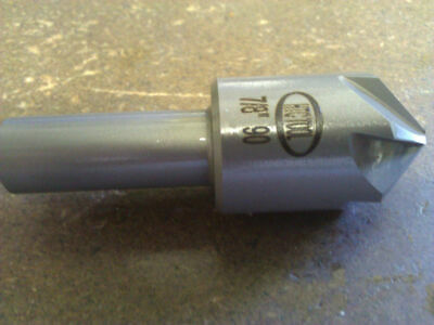 Chatterless HSS Countersink 90-Degree MA Ford 79031203  5//16 6-FLute