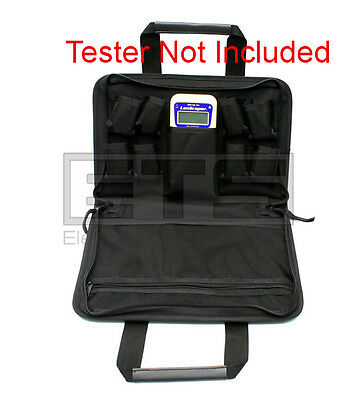 Test-Um JDSU LanScaper PC400 Soft Carrying Case 12 x 10 x 2.25 For NT700 NT750