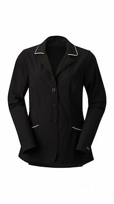 Kerrits Competitor Show Hunt Koat Coat - LADIES - Black w/White - All Sizes
