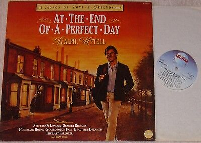 Ralph McTell At The End Of A Perfect Day Vinyl LP Telstar Label STAR2263