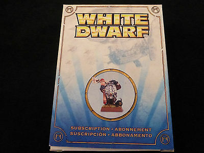 White Dwarf Subscription 2010 - 2011 Aviator Ancestor One Metal Boxed Set