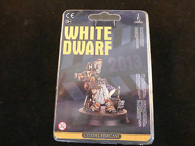 White Dwarf Subscription 2012 - 2013 Movie Director Grombrindal Finecast Blister