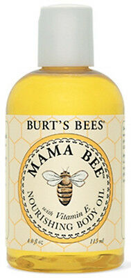 Burt's Bees All Natural Pregnant Mama Bee Nourishing Body Oil 4 oz - 118735