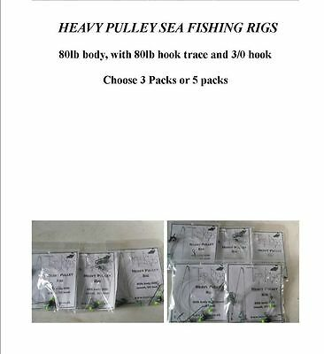 Heavy Pulley Sea Fishing Rigs