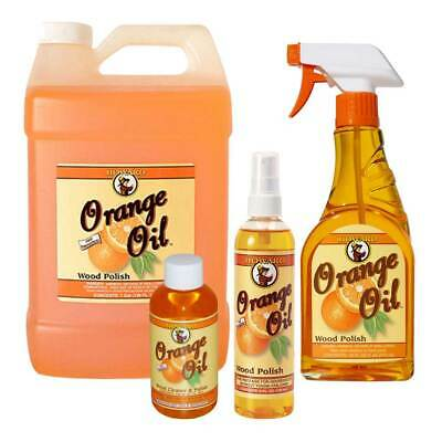 Orange Oil Wooden Furniture Polish, Wood Cleaner Howard Products Bottle or Spray