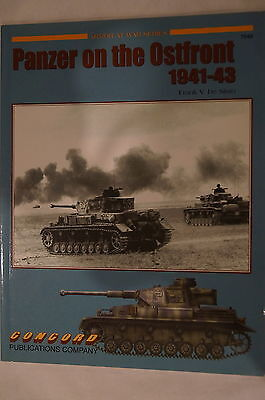WW2 German Armour Panzer Eastern Front Concord Reference Book